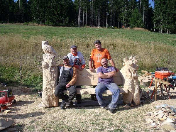 Setkání dřevosochařů v Peci pod Sněžkou
