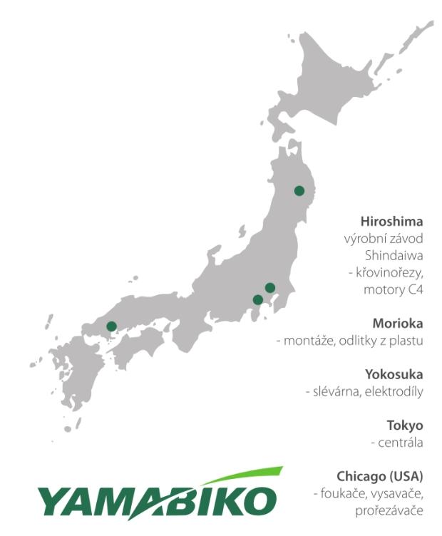 Japonská společnost YAMABIKO